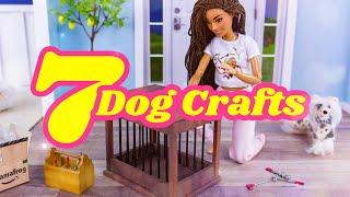 DIY - How to Make: 7 Dog Quick Crafts | Kennel | Dog Bed | Dog Toys & more