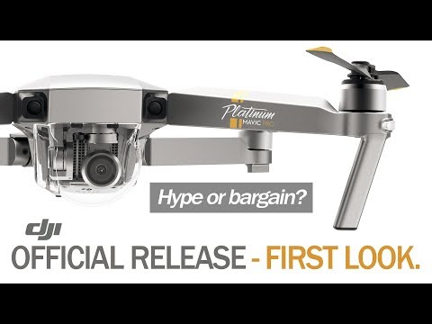 DJI Mavic Pro Platinum - OFFICIAL RELEASE - FIRST LOOK & COMPARE