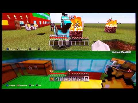 Matt and Sebby Minecraft Gameplay