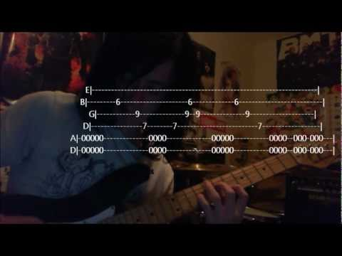 How To Play: (With Tabs) If You Can't Ride Two Horses.. - Asking Alexandria