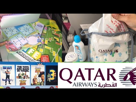 Qatar Airways Babies Toddlers and Kids Toys Entertainment and Toiletries