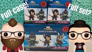 Opening Funko mystery minis full case Thor Ragnarok