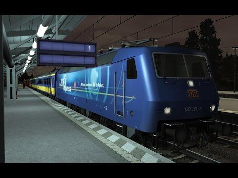 Rubku Verjaardag Express   vR BD120 ZDF   Train Simulator 2017