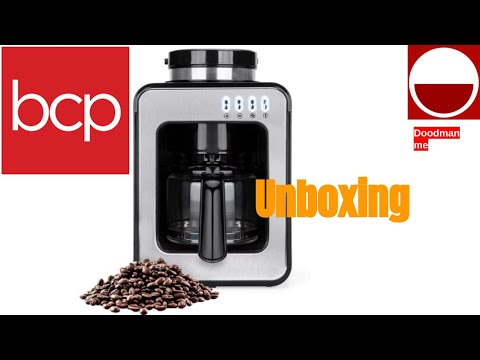 Best Choice Products Automatic Kitchen Coffee Maker Unboxing