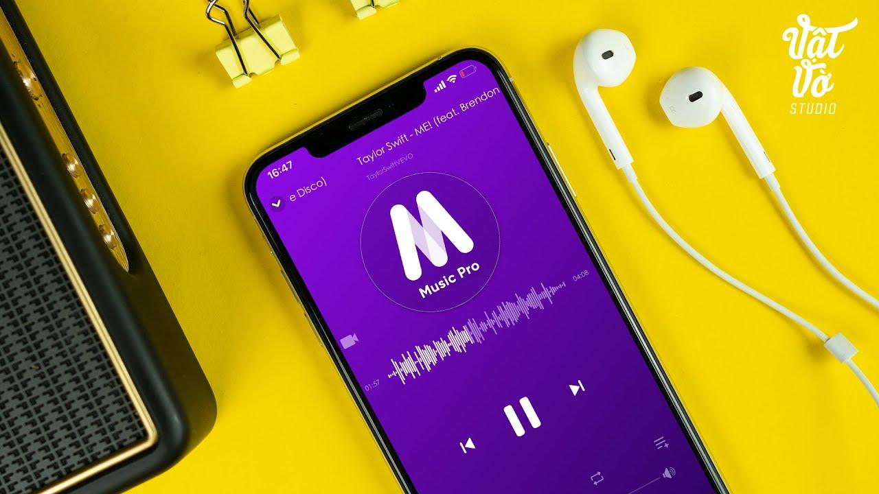 Nghe nhạc trên Youtube khi tắt màn hình với Music Pro