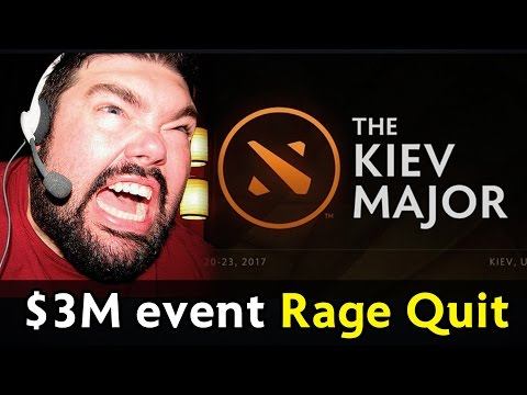 Rage Quit into Disband on $3,000,000 event — Kiev Major