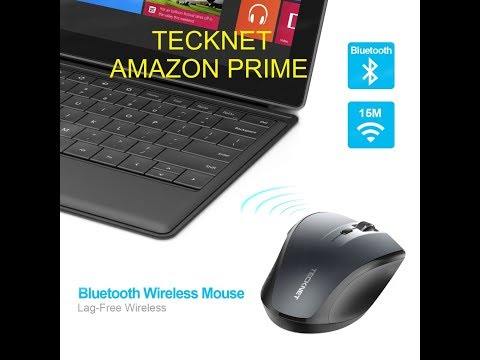 (Episode 2024) Amazon Prime Unboxing: TeckNet Bluetooth Wireless Mouse @amazon