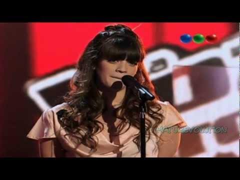 La voz Argentina / Antonela Cirillo  - I have nothing (sonido de alta calidad)