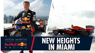 Reaching New Heights | David Coulthard Completes Donut on the Tallest Building in Miami