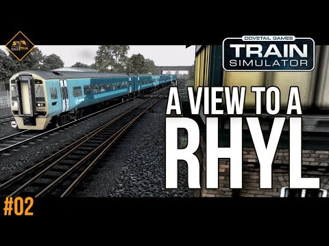 Train Simulator 2018 North Wales Coastal - Rhyl Gameplay with majestic commentary