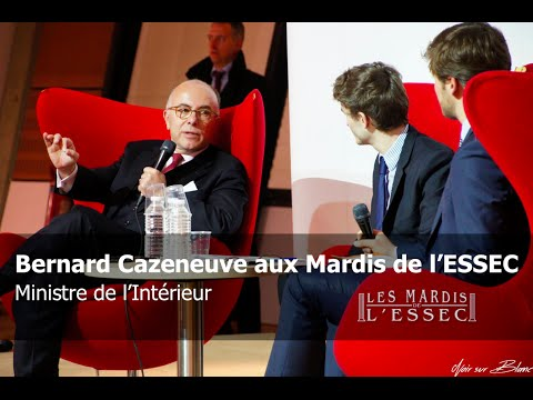 Bernard Cazeneuve aux Mardis de l'ESSEC