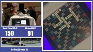 2016 North American Scrabble Championship Round 25