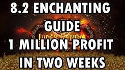 WoW BfA 8.2.0 Enchanting Guide I Made 1 Million Gold in Two Weeks!!