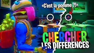 Le jeu des différences sur Fortnite Créatif !