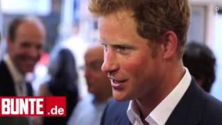 Prinz Harry - Erster Auftritt nach dem Liebes-Outing - BUNTE TV