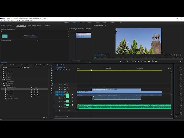 Premiere Pro Eğitimi 14 -  Videolara efekt uygulamak