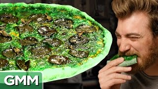 Green Pizza Taste Test