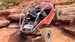 ROCK CRAWLING IN MOAB at EASTER JEEP SAFARI PART 1