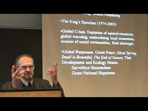 Donald K Swearer: Buddhist Economics and Thailand's Sufficiency Economy