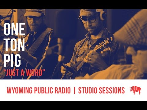 Studio Sessions: One Ton Pig - Just A Word