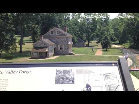 Valley Forge Encampment Tour