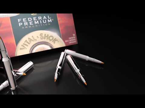 Federal Premium Ammunition - Vital-Shok Trophy Copper