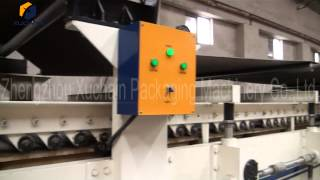 Double Facer Of Corrugated Paper Board Plant From Zhengzhou Xuchain Packaging Machinery