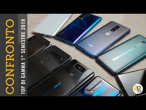 CONFRONTO TOP S10+, P30pro, OnePlus 7 pro, Zenfone 6, Oppo Reno 10x, Xperia 1, Mi9, G8s, 20 pro