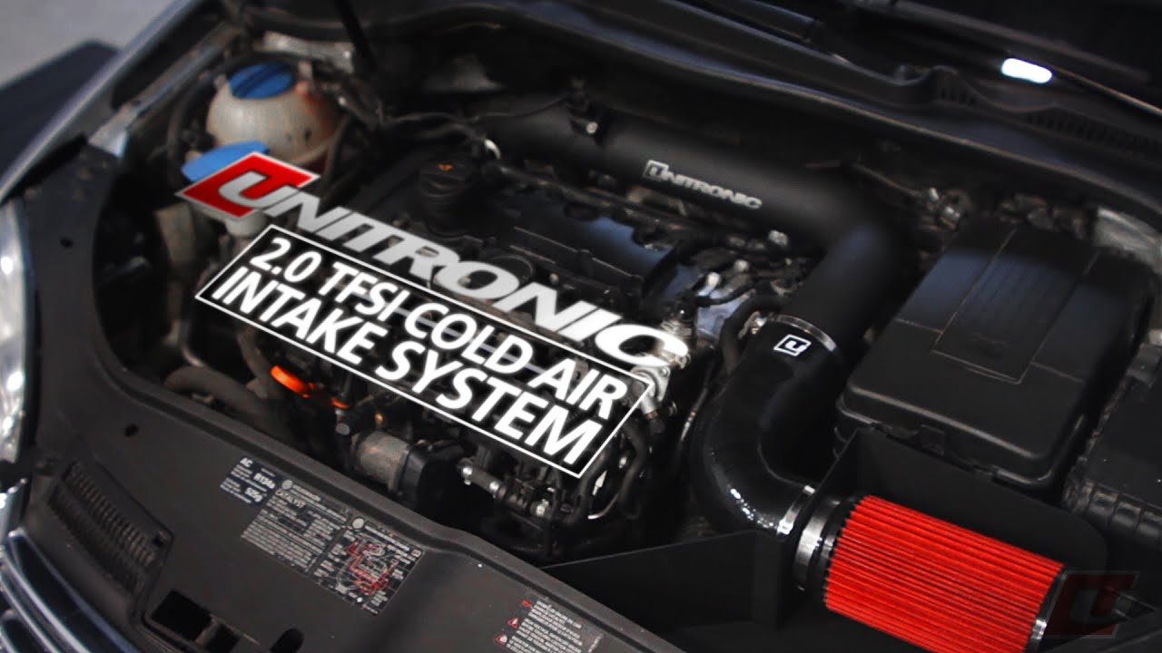 Unitronic 2 0 Tfsi Cold Air Intake System Youtube