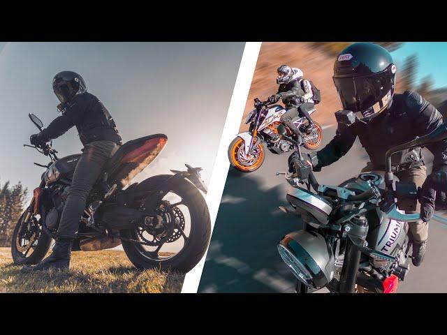 Cette moto est un jouet ! 😍- Trident 660
