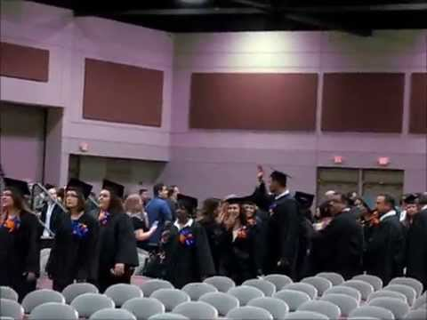 Marie's graduation as medical assistant from Vista College 1 November 2014