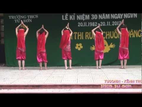 MÚA : VARIOUS - MADE IN INDIA ( tốp múa 6A2 - THCS TỪ SƠN - BẮC NINH )