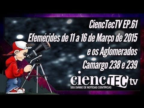 CiencTecTV Ep.61 - Efemérides de 11 a 16 de Março de 2015
