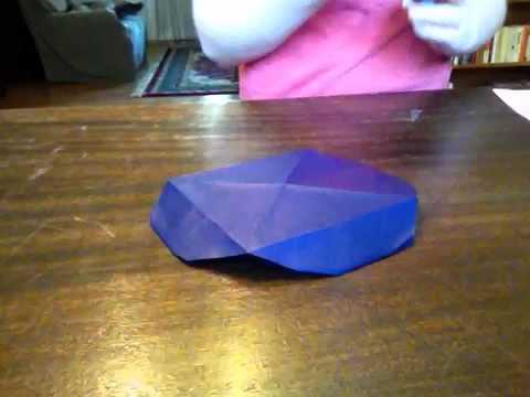 Origami blueberry