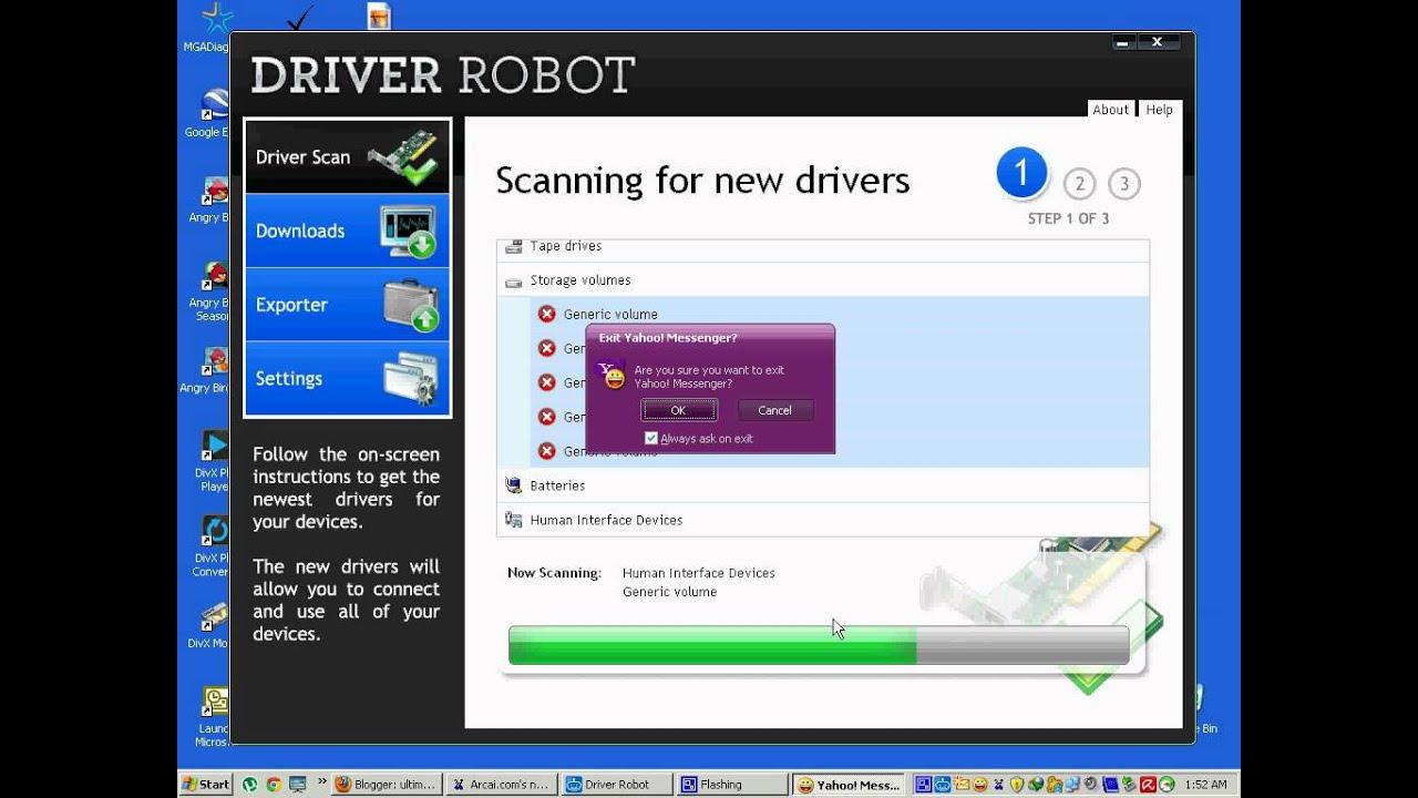 robot millenium v21