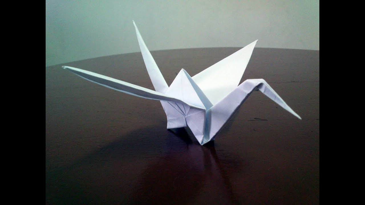 How To Make a Paper Crane: Origami Step by Step-Easy - YouTube | 720x1280