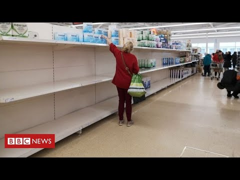Coronavirus: retail sales suffer biggest fall since records began - BBC News