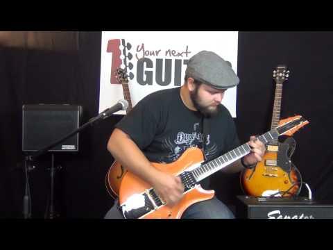 Viktorian custom carbon fibre guitars