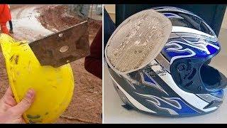10 imágenes increíbles que demuestran la importancia de los cascos