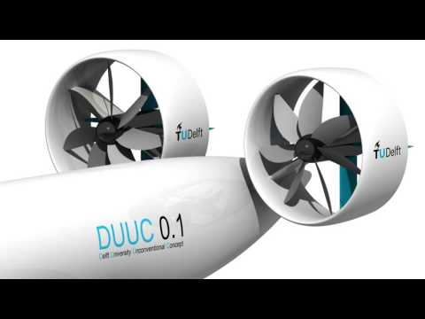 DUUC aircraft with the innovative 'Propulsive Empennage' concept