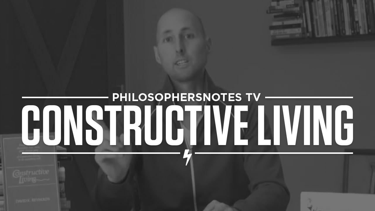 Superb PNTV: Constructive Living By David K. Reynolds