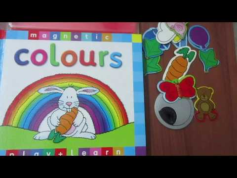 Buy Online - Colours - Magnetic Book