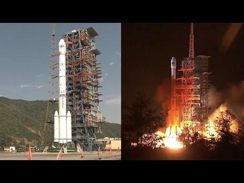 Long March-3C launches BeiDou-2 GEO-8 satellite