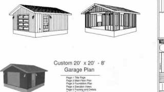 Plans to build 24x30 garage material list pdf plans for 24x30 garage cost