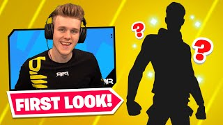 *FIRST* Look At My FORTNITE SKIN!