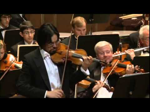 Beethoven Violin Concerto - Haldan Martinson and Max Hobart Boston Civic Symphony
