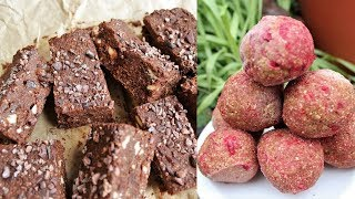 2 Delicious Sweet Raw Food Recipes 😍