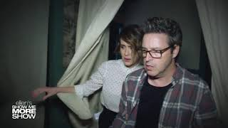 ellen Show,  Sarah paulson and Andy Lassner scream their way through a haunted house HD