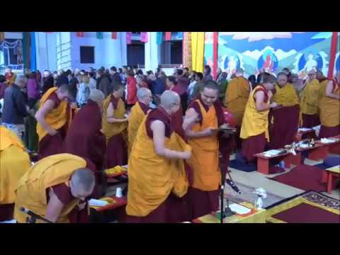 20180512 0930 LZR Stupa of Great Compassion LONG LIFE PUJA