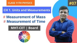#07 11th Physics CH 1. Units and Measurements  Maharashtra Board  MHT-CET